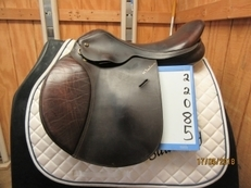 "M Toulouse Celine Used Close Contact Saddle 17.5 ""W"