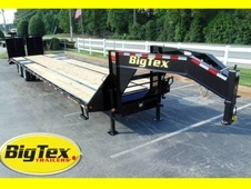 Big Tex 10-Ton 35+5 Hot Shot Trailer w/Mega Ramps