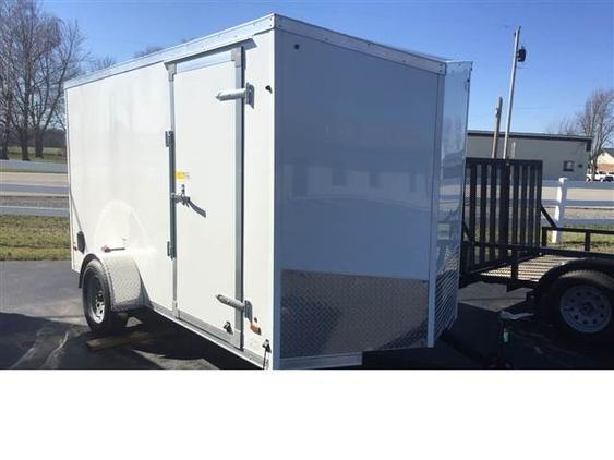 2018 Us Cargo 12ft x 6ft cargo / rear ramp / side soor