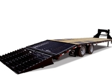 Big Tex 22GN 30'+5' HD Tandem Dual Axle Gooseneck w/ Mega Ramps