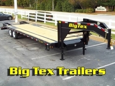 Big Tex Gooseneck Trailer with Tandem 7K Axles