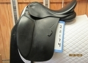 Toulouse Aachen Genesis Used Dressage Saddle 17.5