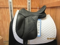 "Wintec Isabell Used Dressage Saddle 18"" adj."