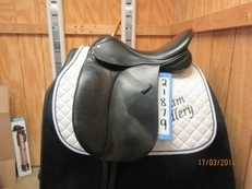 Miller's Klimke Dressage Used Dressage Saddle 17.5