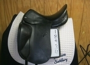 Jaguar XKC Used Dressage Saddle 17.5