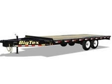 Big Tex 18' Heavy Duty Over-The-Axle Trailer w/ Slide In Ramps