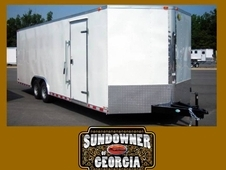 8. 5 Wide Car / Cargo Trailers by Forest River #1 Brand in The US...