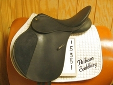 Wintec 500 Used All Purpose Saddle 17.5