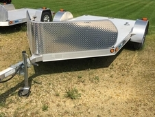 2014 ALCOM DOUBLE MOTORCYCLE TRAILER #8922