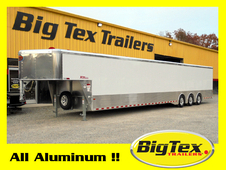 2017 8.5x48 All Aluminum Sundowner Gooseneck, Triple 7K Axles, 40ft floor space