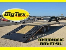 Big Tex Hydraulic Dovetail Goosenecks