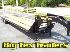 Big Tex 40ft Hot Shot Gooseneck Trailer, 10-Ton