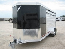 20' Featherlite Stock Combo Trailer