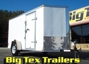 6-Wide Cargo Trailers from Lark, 6x10, 6x12, & 6x14