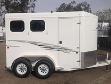 2017 Trails West 2 Horse Bp Trailer
