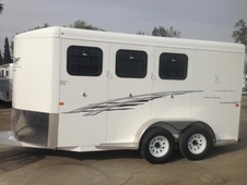 2016 Trails West 3 Horse BP Trailer
