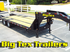 10-Ton Big Tex Gooseneck, 22GN , 25ft Deck to 40ft