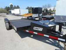 2016 PRATT EZ1980 EQUIPMENT TRAILER