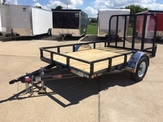 PJ 77″ X 10 ft Utility Work Trailer