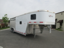 Exiss 22' Stock Cattle Trailer