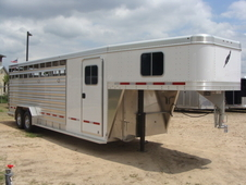 2017 Featherlite 8413 STOCK/ COMBO 4 HORSE 4 HORSE SLANT WITH TAC...