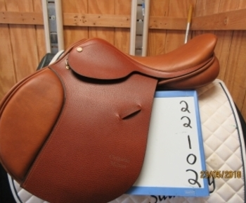 Barnsby Milton Used Close Contact Saddle 17.5