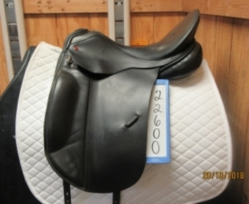 Albion SLK Ultima LH Used Dressage Saddle 17.5
