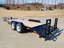Big Tex 14ET Heavy Duty Equipment Trailer 20' Knee Ramp