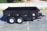 12ft Pro Series Scissor Lift Dump Trailer w/ Ramps for sale in United States of America