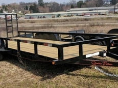 NEW 2019 Quality 6x20 General Duty Utility Trailer w/ Spring Assist Gate