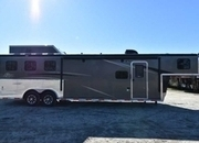 New 2018 Bison Ranger 8311 3 Horse Trailer with 11' Short Wall