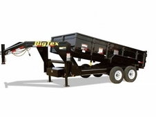 Big Tex 14GX 14' Heavy Duty Tandem Axle Extra Wide Gooseneck Dump...