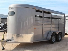 "CM Dakota 3 Horse 6'8"" Wide CMH0833-16"