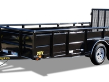 Big Tex 70TV 12' Tandem Axle Vanguard