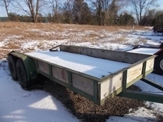 1999 HOMEMADE UTILITY TRAILER