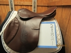 "Passier Comet II Used Close Contact Saddle 18""M"