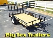 Top Quality BIG TEX Utility Trailers, starting at