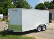 Texan 7' x 14' TA Cargo w/ Rear Ramp & Side Door
