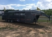 2015 Gooseneck Brand 28' Catch trailer