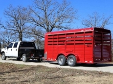 -Cm Stocker 16' Stock Trailer-