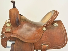"Used 14"" Crown C Barrel Saddle by Martin Saddlery"