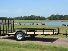 12ft x 6. 5ft Single Axle Utility