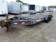 2002 JENSEN EQUIPMENT TRAILER