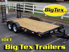 Big Tex Pro Series Tandem Axle Equipment Trailer 7x16 to 7x20, #5200 Axles to 7K Axles