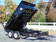 12ft Pro Series Scissor Lift Dump Trailer