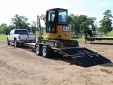 14ET 20 ft Heavy Duty Equipment Hauler w/ Mega Ramps