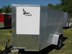 LARK 5 X 10 CARGO W/ REAR RAMP & SIDE DOOR