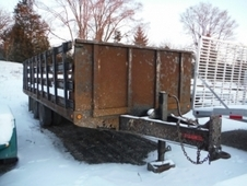 1999 REDI HAUL R20210PFE EQUIPMENT TRAILER