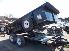 2018 BIG TEX 14LX-14 DUMP TRAILER
