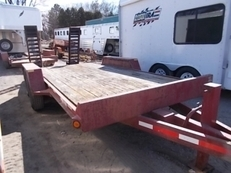 2004 REDI HAUL FSL14HDE-102 EQUIPMENT TRAILER